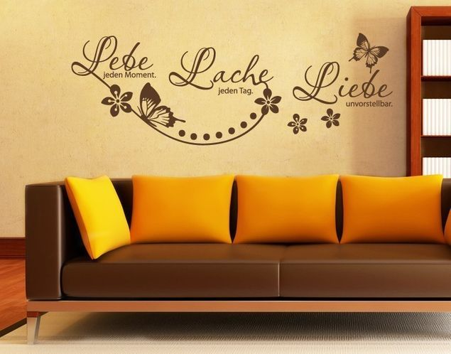 Wandtattoo Lebe Lache Liebe