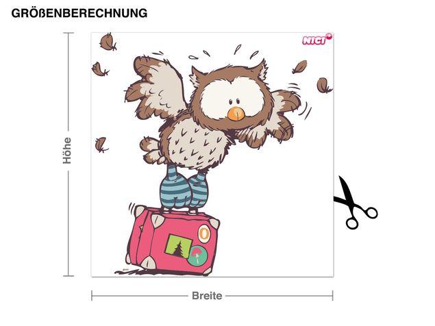 Wandtattoo Oscar Owl