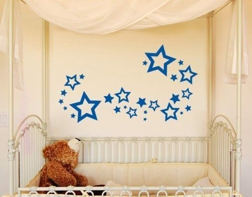 Wandtattoo Sterne Set