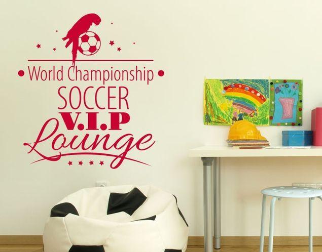 Wandtattoo VIP-Lounge