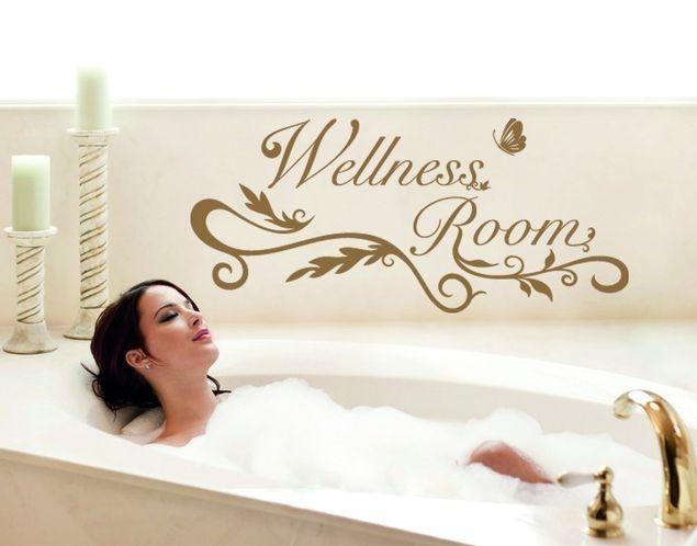 Wandtattoo Wellness Room