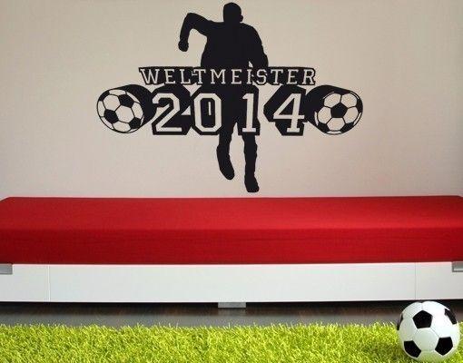 Wandtattoo Weltmeister2014