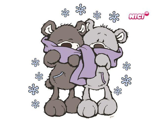 Wandtattoo Winter Bears