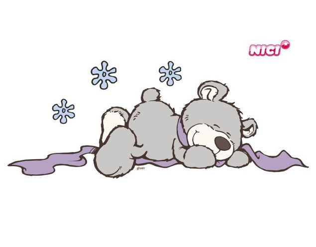 Wandtattoo Winter Bears