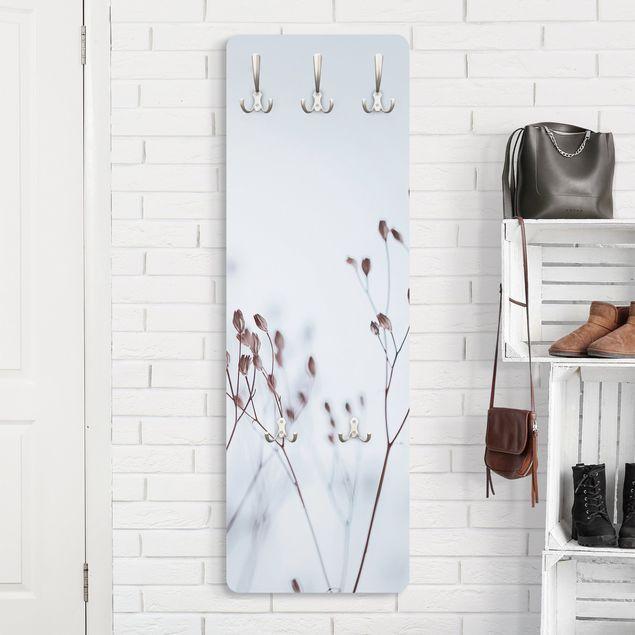 Garderobe - Zartblaue Wildblumen