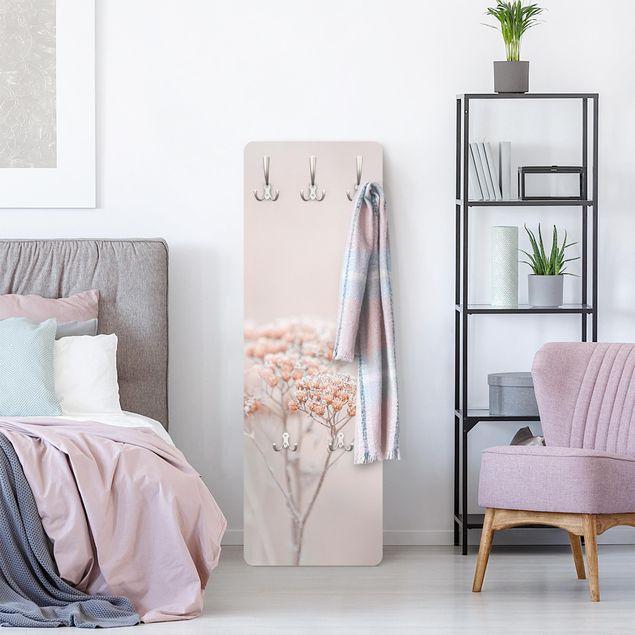 Garderobe - Zartrosane Wildblumen